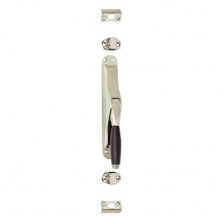 Intersteel Tür-Stangenschloss Ton 400 Nickel/Ebenholz - Vorschau 1