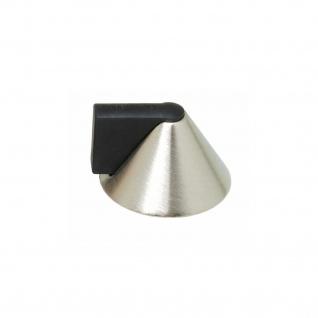 Intersteel Türstopper kegelförmig Nickel matt