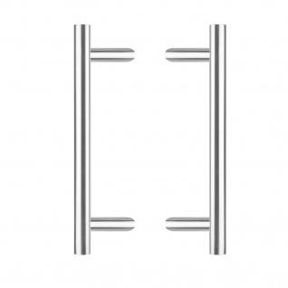 Intersteel Türgriffe Set T-schräg 1200 mm gebürsteter Edelstahl