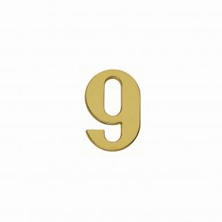 Intersteel Hausnummer 9 Messing Titan PVD