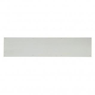Intersteel Sto?platte 200 x 900 mm gebürsteter Edelstahl