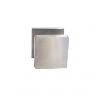 Intersteel Türknauf auf Rosette Nickel matt