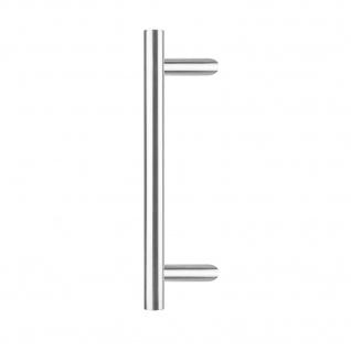 Intersteel Türgriff T-schräg ø 25 mm - 700 mm gebürsteter Edelstahl