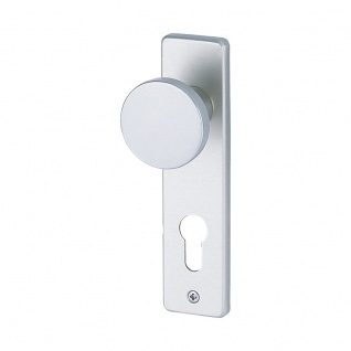 Kurzschildgarnitur Kosmos F1 Kurzschildgarnitur, Leichtmetall F1, Korridor rechts/links, DIN SB-Karte
