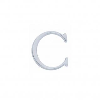 Intersteel Hausbuchstabe C Chrom