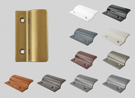 Balkontürgriff Ziehgriff Terrassentürgriff aus Metall - gold eloxiert - Länge 62 mm