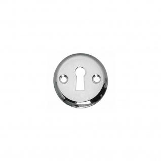 Intersteel Rosette mit Schlüsselloch und Schraublöchern Chrom - Vorschau 1