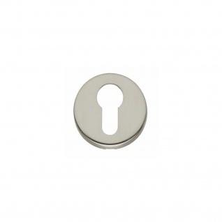 Intersteel PZ-Schutzrosette rund Nickel matt