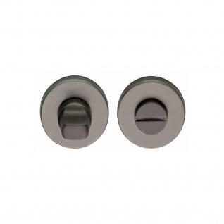 Intersteel Rosette mit Toiletten-/Badezimmerverriegelung Titan anthrazit PVD