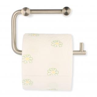 Toilettenpapierhalter Rollenhalter Klopapierrollenhalter aus massivem Edelstahl
