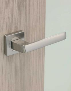 Türdrücker Türklinke Modell Cascada Edelstahl Optik WC - Bad