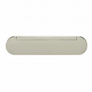 Intersteel Zugluftschutz oval Nickel matt