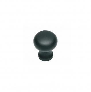 Intersteel Möbelknauf ø 25 mm Schmiedeeisen schwarz