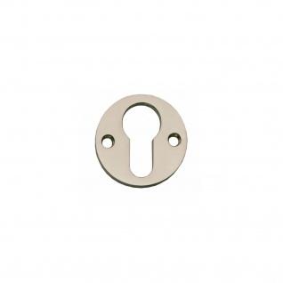 Intersteel PZ-Schutzrosette rund und flach Nickel
