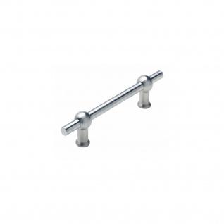 Intersteel Möbelgriff T-Form 184 mm - Bohrmaß 128 mm gebürsteter Edelstahl - Vorschau 1