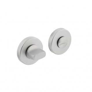 Intersteel Rosette mit Toiletten-/Badezimmerverriegelung Aluminium