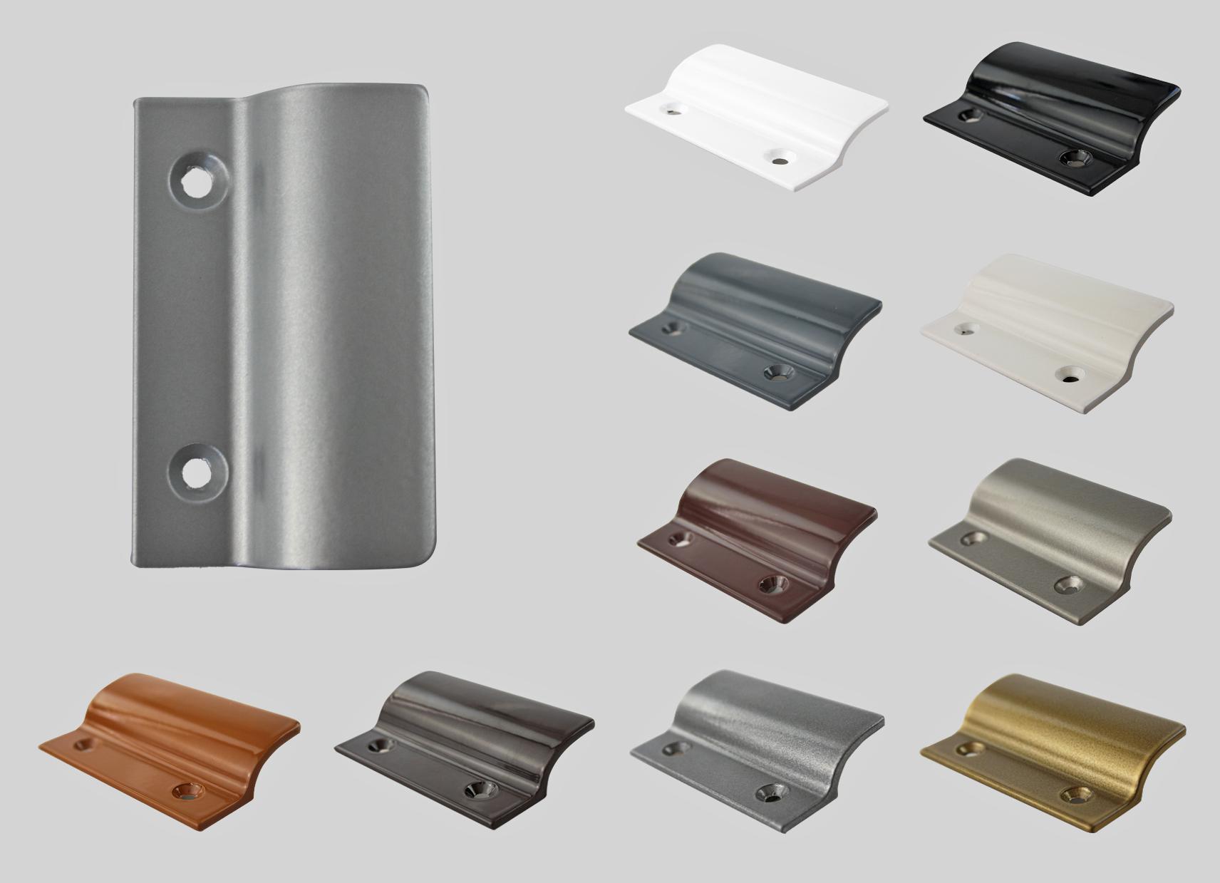 Balkonturgriff Ziehgriff Terrassenturgriff Aus Metall Silber