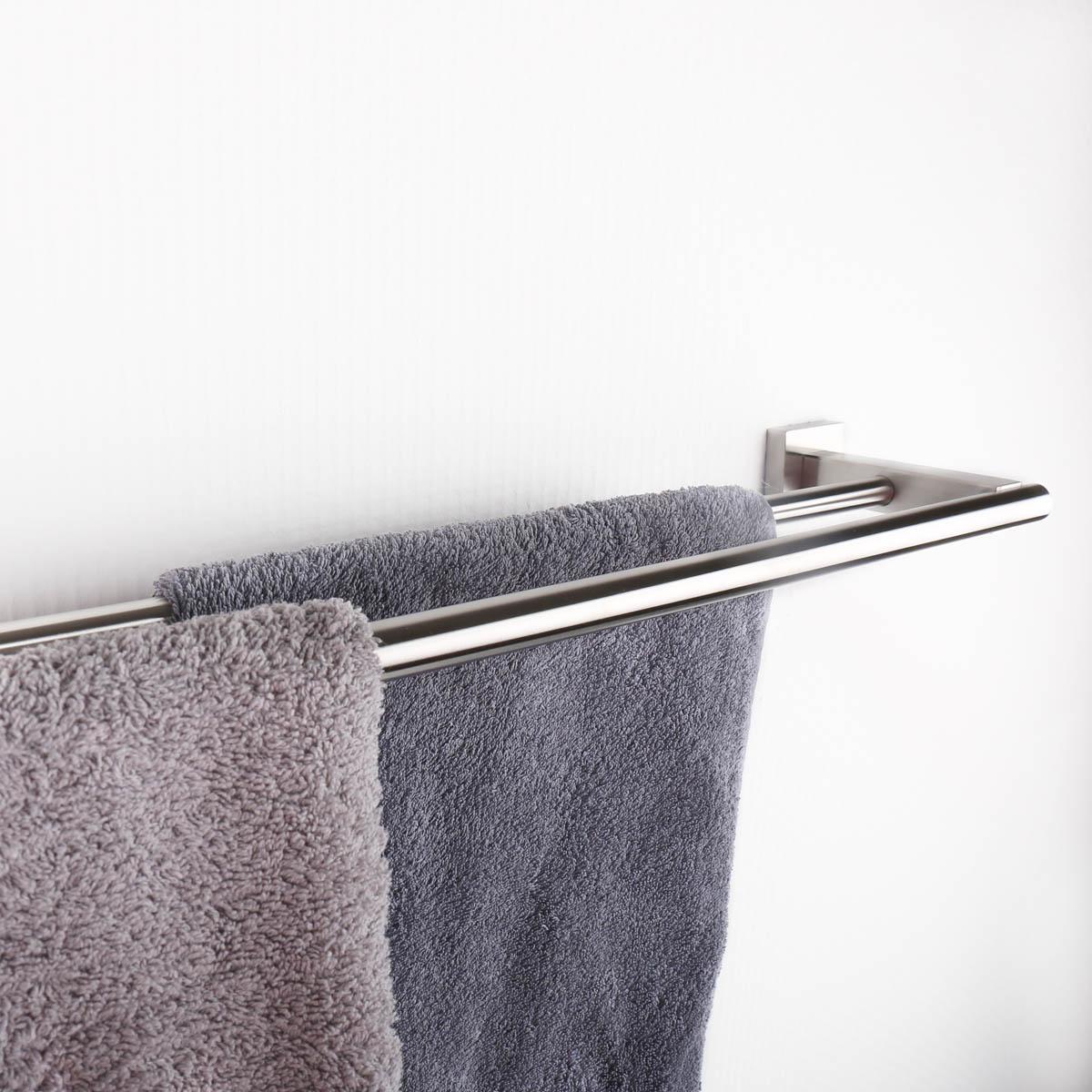 Bekannt Handtuchhalter Handtuchablage aus Edelstahl - matt gebürstet XE07