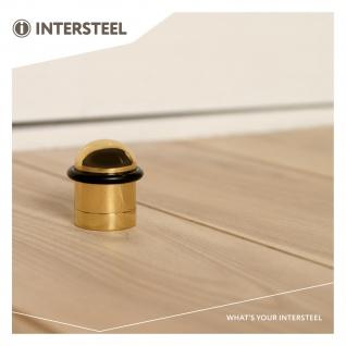 Intersteel Türstopper Bodenmontage Messing lackiert - Vorschau 3