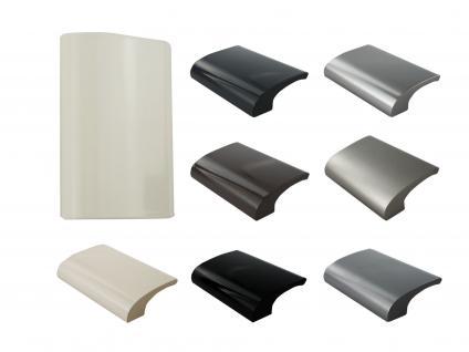 Balkongriff Ziehgriff Terrassentürgriff Deluxe verschiedene Farben - Weiß