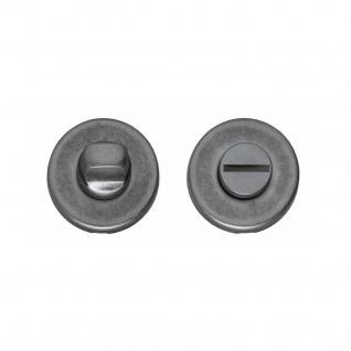 Intersteel Rosette mit Toiletten-/Badezimmerverriegelung Altgrau