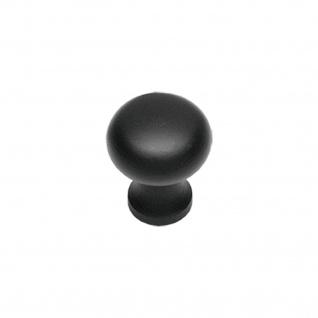 Intersteel Möbelknauf ø 35 mm Schmiedeeisen schwarz