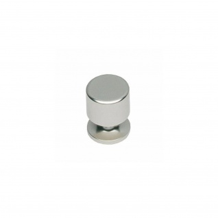 Intersteel Möbelknauf ø 25 mm gerade Nickel matt