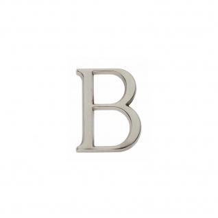 Intersteel Hausbuchstabe B Nickel matt