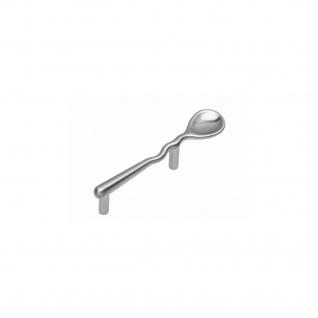 Intersteel Möbelgriff Löffel 116 mm Nickel matt
