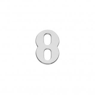 Intersteel Hausnummer 8 Chrom