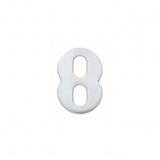 Intersteel Hausnummer 8 Chrom matt