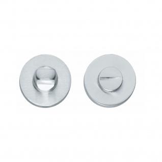 Intersteel Rosette mit Toiletten-/Badezimmerverriegelung rund Chrom matt