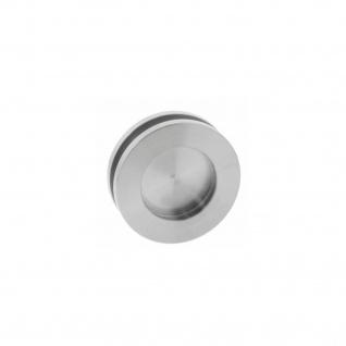 Intersteel Griffmuschel für Glastüren 36 mm Edelstahl gebürstet
