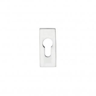 Intersteel Sicherheits-Schubrosette rechteckig 10 mm Edelstahl poliert - Vorschau 1