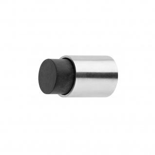 Intersteel Türstopper ø22 x 30 mm Wandmontage gebürsteter Edelstahl