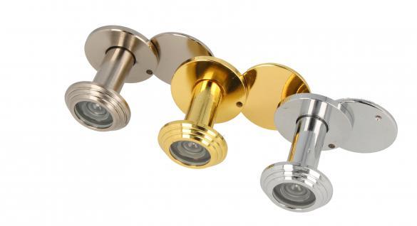Türspion Türgucker Spion verschiedene Farben für Türstärke 35mm - 55mm
