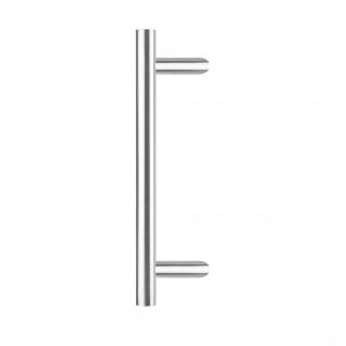 Intersteel Türgriff T-schräg 1200 mm gebürsteter Edelstahl