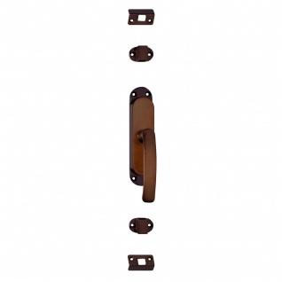Intersteel Fenster-Stangenschloss rechts Messing brüniert - Vorschau 1