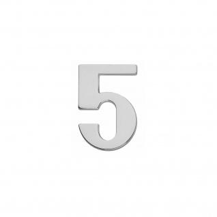 Intersteel Hausnummer 5 Chrom - Vorschau 1