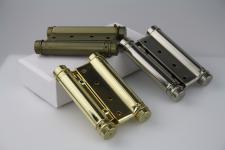 Pendeltürbänder Scharnier Türband aus Messing - Größe 100 mm - diverse Farben