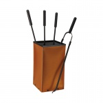 Fox, Farbe Cognac Leder regeneriert, Eisen beschichtet, 18/18/59, 5 cm, 3, 0 kg