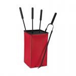 Fox, Farbe Rouge Leder regeneriert, Eisen beschichtet, 18/18/59, 5 cm, 3, 0 kg