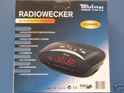Radiowecker XL6312