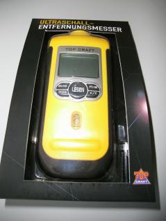 Ultraschall Entferungsmesser mit Laser / Entferungsmessgerät Messgerät TOP CRAFT