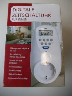 Digitale Zeitschaltuhr für innen, 3680 Watt