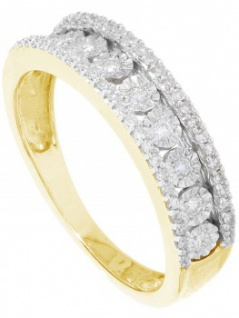 Our Diana - Diamantring Gelbgold 333 - 0, 20ct.
