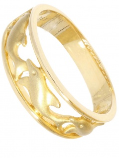 Legacy - Ring ohne Stein Gold