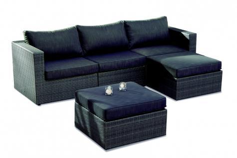 Loungegruppe Sitzgruppe Lounge Ecksofa Sofa Gartengruppe Outdoor mit Polsterung