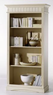 Regal Bücherregal Standregal Fichte massiv klassisch elegant antik Landhaus
