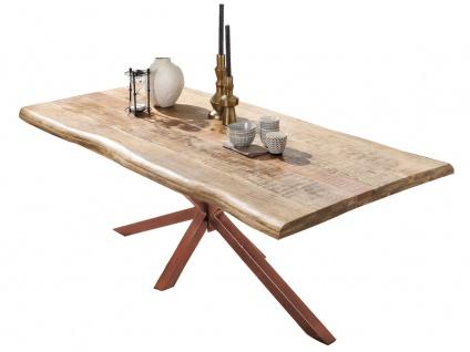 TISCHE & BÄNKE Tisch 160x90 Mango Natur
